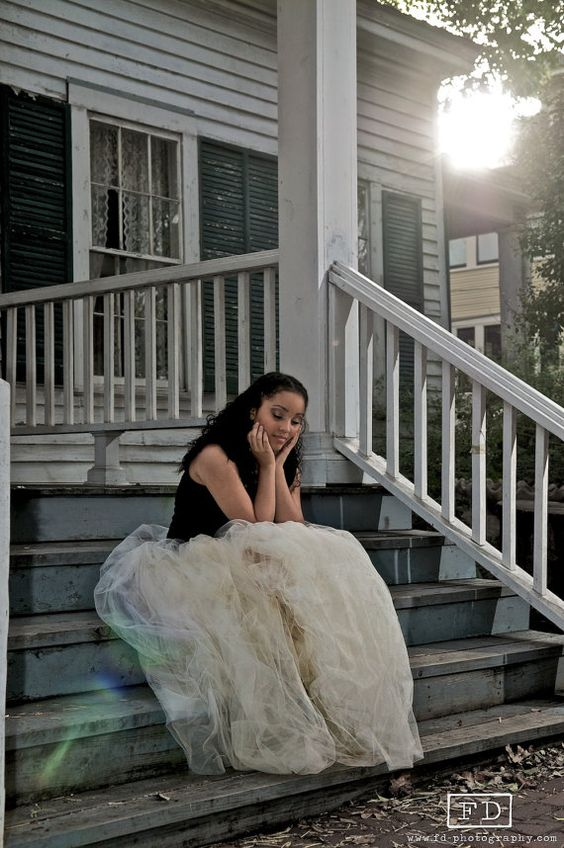 Couture Ivory Long/Full Elegant Tulle Tutu Skirt by CSIboutique, $74.99 What a gorgeous picture