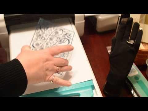 TODO Letterpress test - YouTube