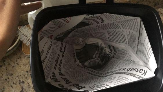 J'ai testé les sacs poubelle en papier journal