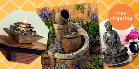 Backyard Camping Bandcamp : Save up to 65% with free shipping on indoor and outdoor fountains in