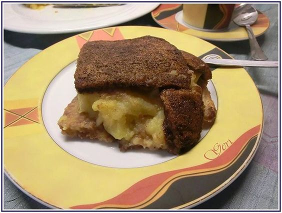 Lecker mit Geri: Warmer Apfel Charlotte - Топла шарлота с ябълки