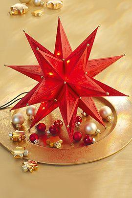 leuchtende sterne basteln f r weihnachten basteln natale und selber machen. Black Bedroom Furniture Sets. Home Design Ideas