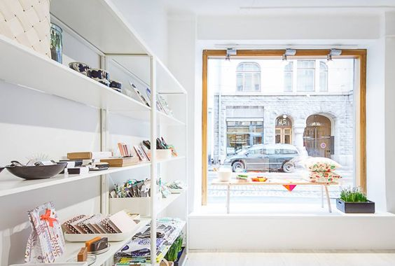 Kauniste Shop, Fredrikinkatu 24, Helsinki.