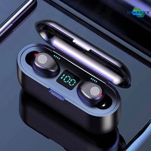 Nimphyx Sport Bluetooth Earbuds 5 0 Stereo Headphones Wireless Earbuds Bluetooth Earbuds