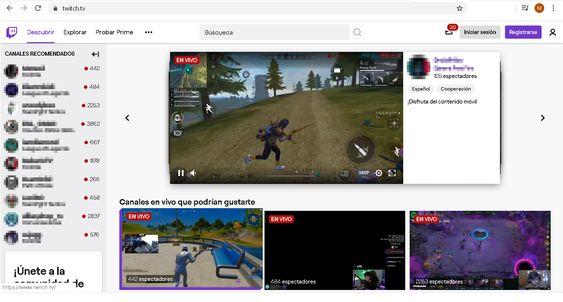 Guía rápida de la plataforma de vídeo Twitch