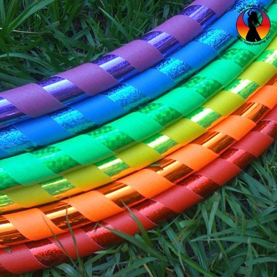 Hoopdance Hula Hoop - Wunschdesign Two Color