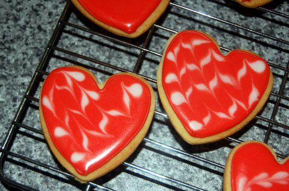 Galletas decoradas con glasa :D  Cookies decorated with royal icing :D
