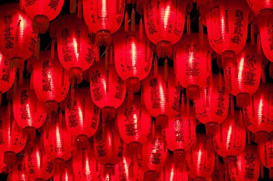 paper lanterns by swiftblue