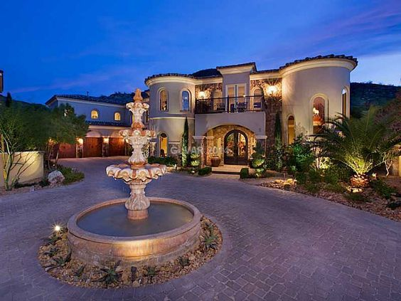 Home lakes and las vegas on pinterest for Las vegas luxury homes for sale