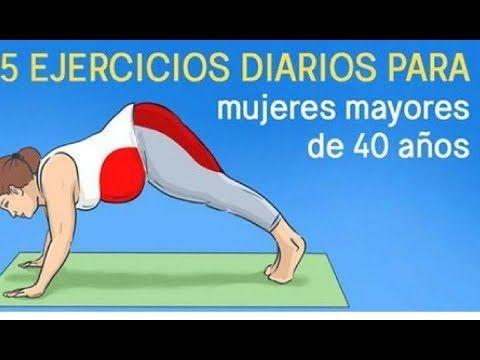 ejercicios para perder barriga mujeres mayores