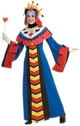 Costume Reine de Carte Poker