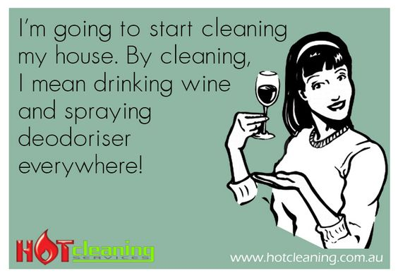 Bad cleaning habits!