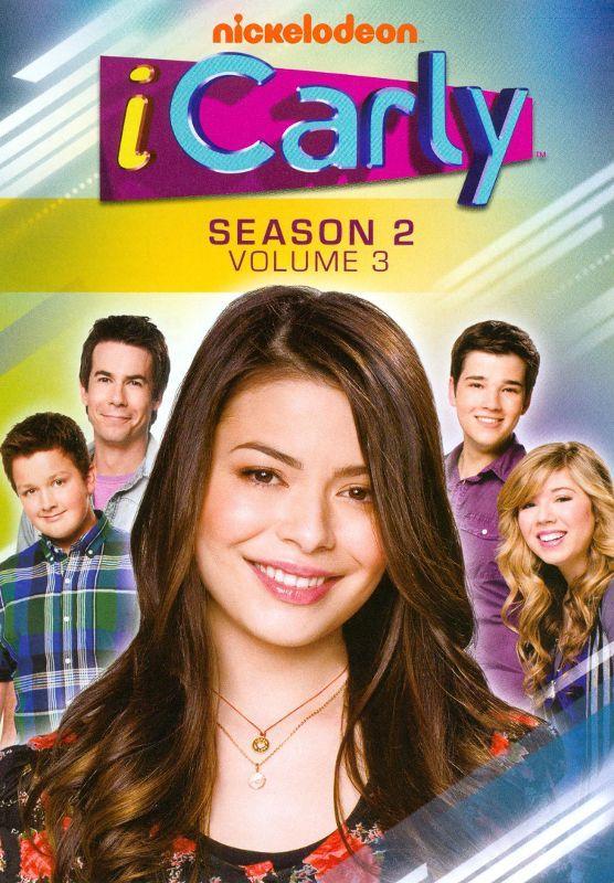Icarly Season 2 Vol 3 3 Discs Dvd Series E Filmes Filmes