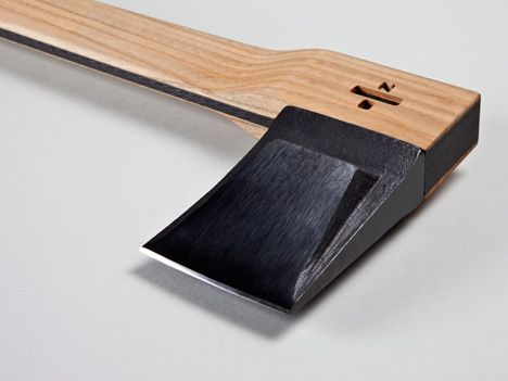 carbon fibre axe - sure.