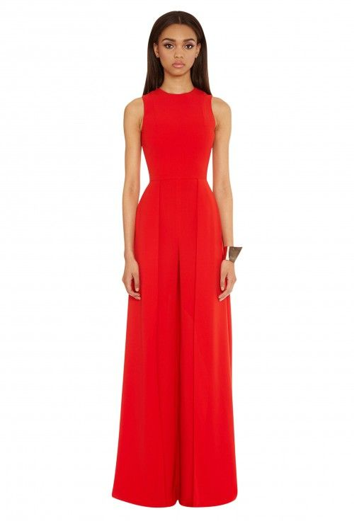 Warp Wide Leg Jumpsuit - Roma Red | Wedding Season | Pinterest ...