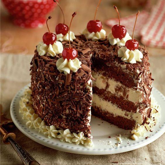 selva negra torta