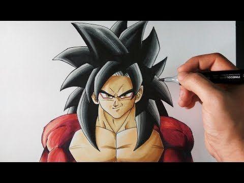 Youtube Cómo Dibujar A Goku Dibujo De Goku Dibujos