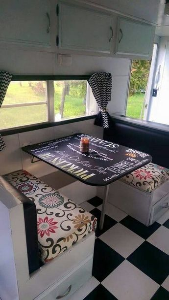 6 travel trailer decorating ideas creative ways  Vintage camper