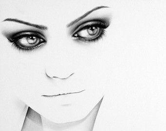 Mila Kunis Fine Art Pencil Drawing Portrait by IleanaHunter
