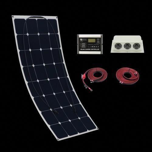Zamp 100 Watt Flexi Deluxe Solar Kit Solar Panels Solar Solar Kit