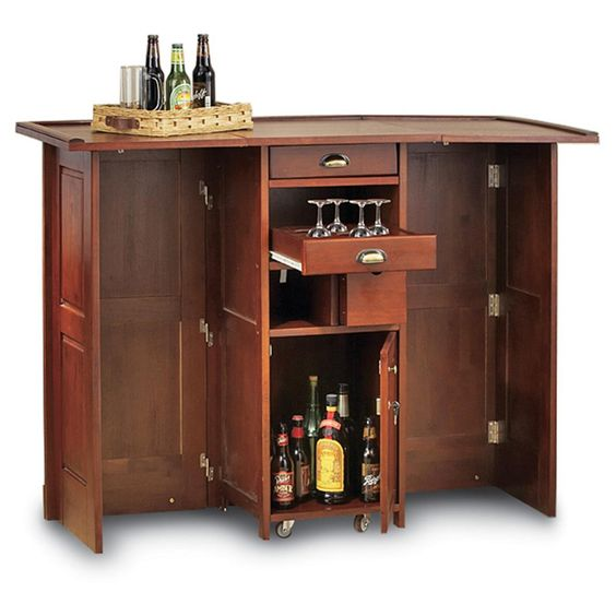 Making Portable Bar Plans Made At Home - http://www.1sthomebarideas ...