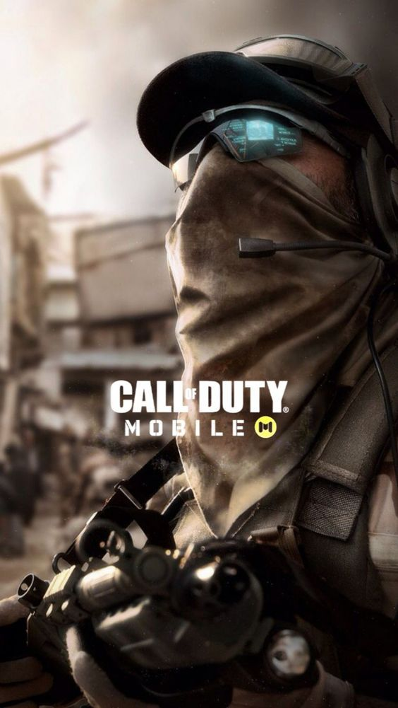 iphone call of duty logo wallpaper