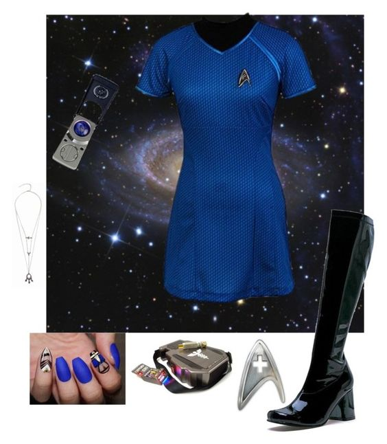 """""""Star Trek"""" by thebrokendolly on Polyvore featuring Bioworld"""