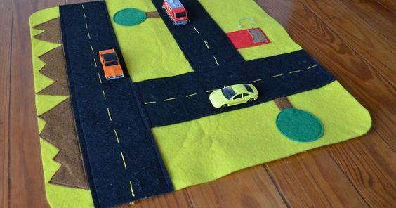 sol da eira: Uma estrada portátil   A portable road