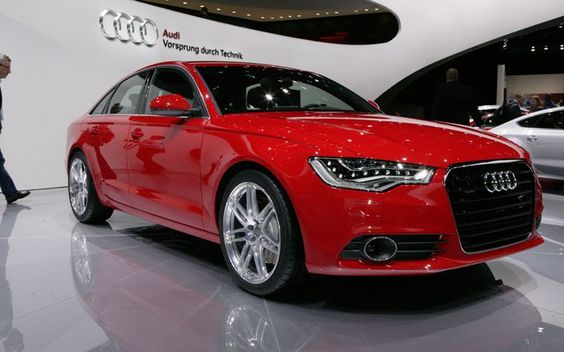 2012 Audi A6 Front Three Quarters View  Photo 5