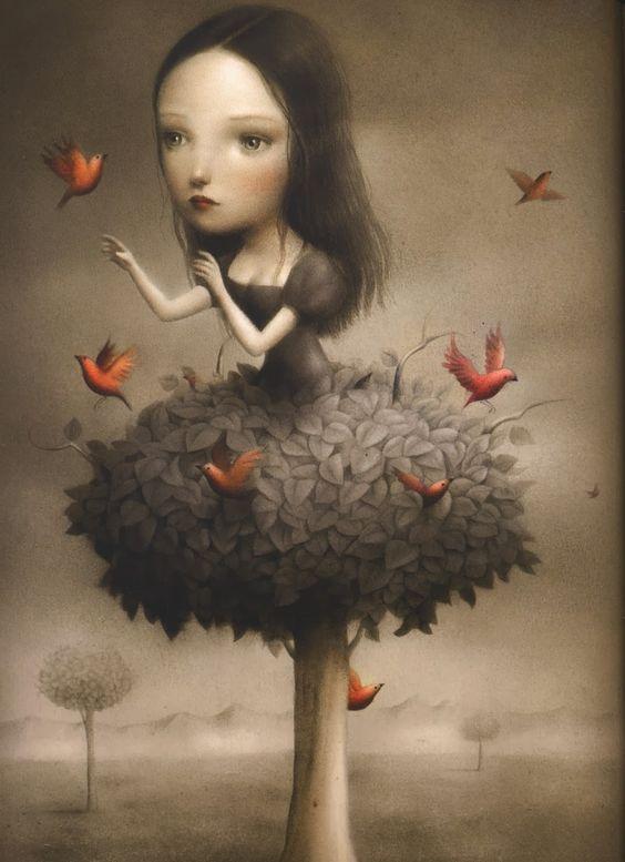 Nicoletta Ceccoli...   Kai Fine Art