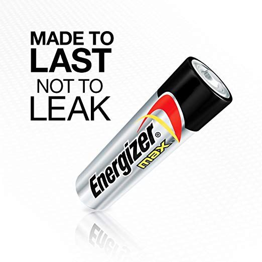 Energizer 4pk Max Alkaline Aa Batteries Energizer Battery Energizer Alkaline Battery