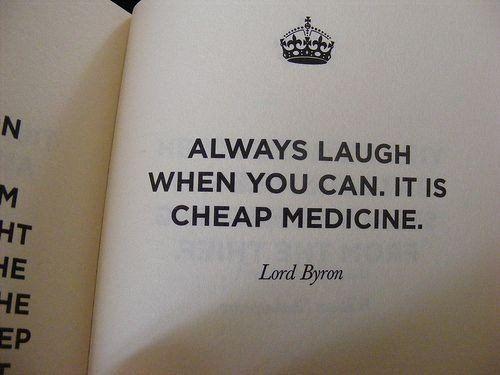 I love a good laugh