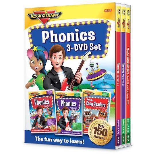 Reading Phonics Phonics 3 Dvd