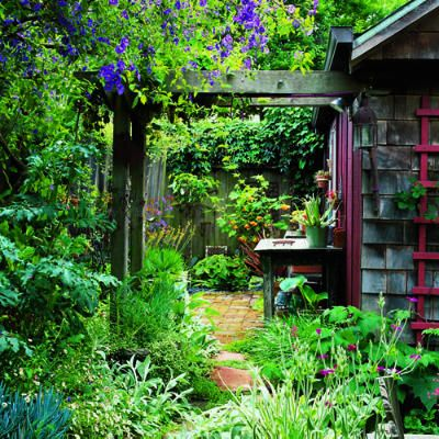 My pergola is based on this design. I have a plain conrete foundation that I could terra cotta tile.