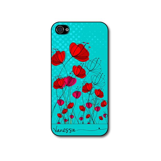 iphone 4 case  Personalized iphone 4 case with hand by CaseHive, $16.99