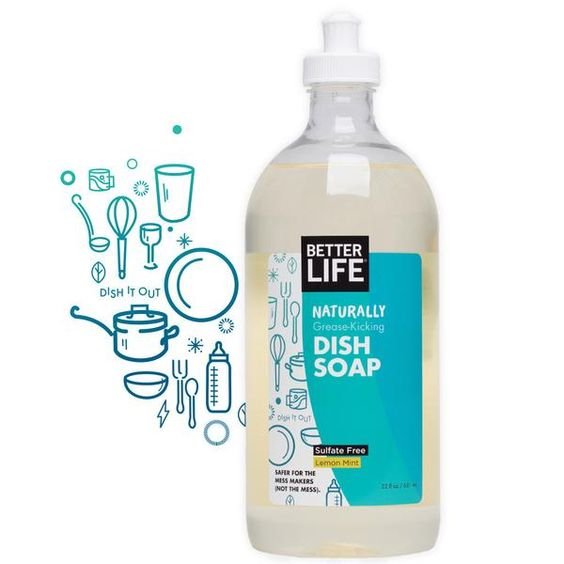 Dish Soap Better Life In 2020 Natural Dish Soap Dish Soap Soap