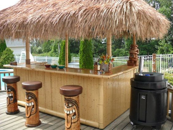Tiki Bars Nicholas D Agosto And Bamboo On Pinterest