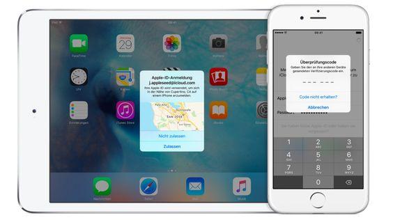 Besserer Schutz: Zwei-Faktor-Authentifizierung für die Apple ID