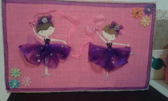 Deco Gemelas y Bailarinas