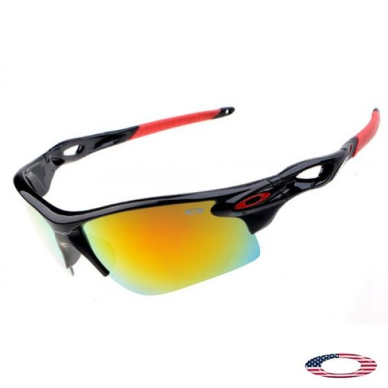 oakley a frame fire iridium glass  discount oakley radarlock path polished black / fire iridium sunglasses