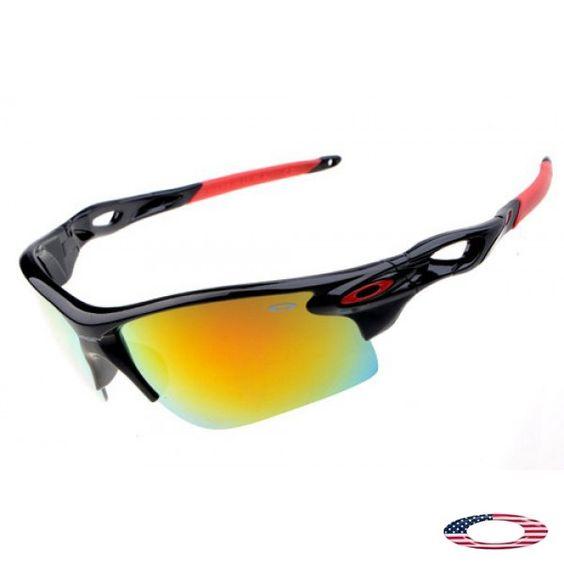 oakley a frame fire iridium glass  discount oakley radarlock path polished black / fire iridium sunglasses