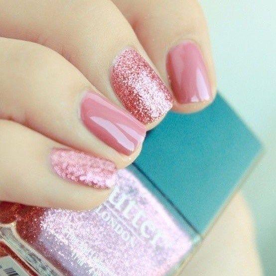 Shades of Pink nail art ideas