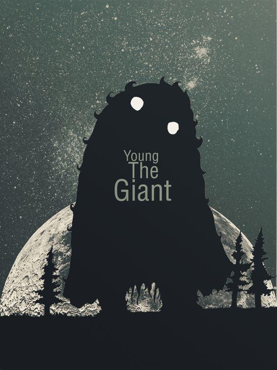 Young the Giant by Gerardo Abraham Garcia Cámara, via Behance