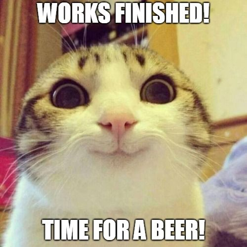 Who else is planning on having a beer after work? Is it beer time ...
