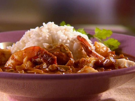 Nore's Slumbo recipe from Sunny Anderson via Food Network