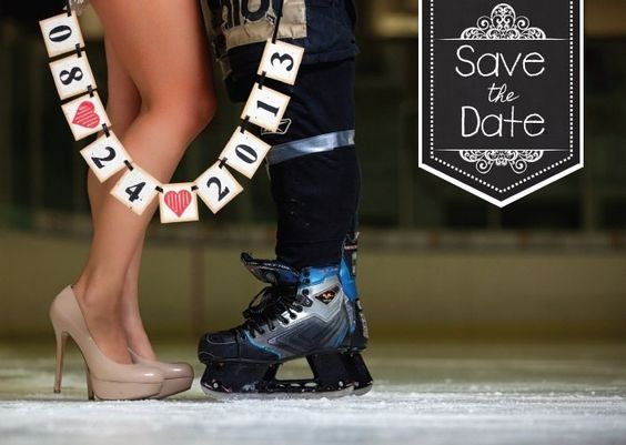 Hockey save the date