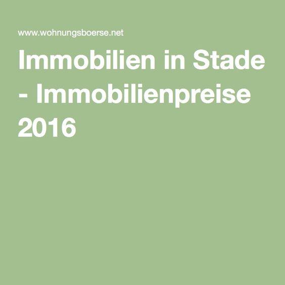 Immobilien in Stade - Immobilienpreise 2016