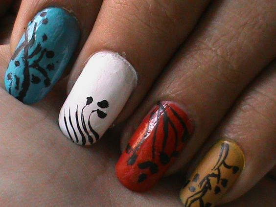 Videos do nail art home diy nail pinterest easy nail art prinsesfo Image collections