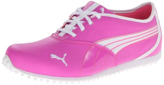 These comfortabla and stylish looking womens monolite golf shoes by Puma will ensure you look and feel great when out on the course