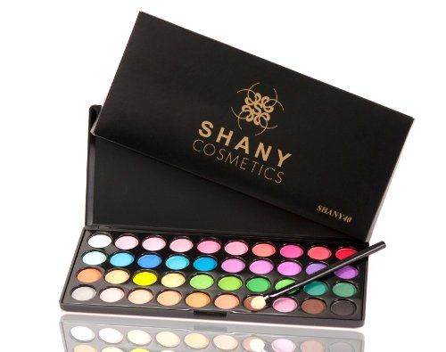 Shany Eyeshadow Palette, Boutique, 40 Color for $11.95